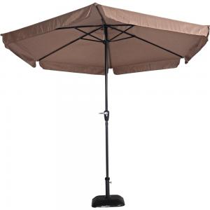 Outdoor Living Parasol Gemini taupe �3mtr