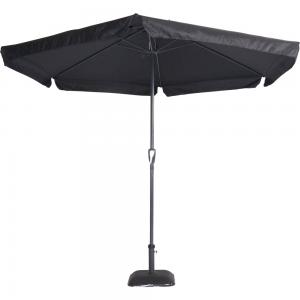 Outdoor Living Parasol Gemini zwart ø3mtr