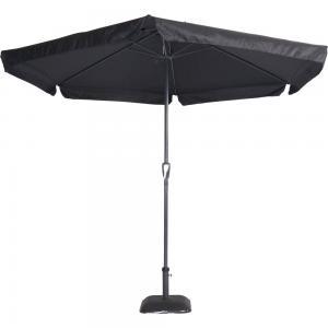 Outdoor Living Parasol Gemini zwart �3mtr