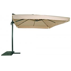 Outdoor Living Zweefparasol Virgo ecru 3x3mtr
