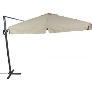 Outdoor Living Zweefparasol Virgo ecru ø3,5mtr
