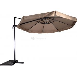 Outdoor Living Zweefparasol Virgo taupe ø3,5mtr