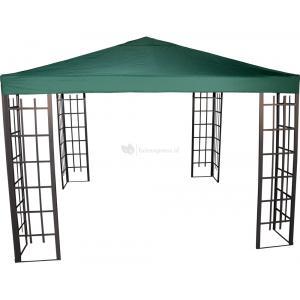 Paviljoen Royal met dak 3 x 3 meter - Groen