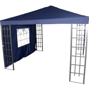 Zijwand met venster voor Paviljoen Royal - Blauw