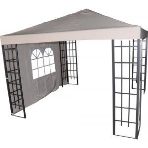 Zijwand met venster voor Paviljoen Royal - Ecru