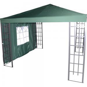 Zijwand met venster voor Paviljoen Royal - Groen
