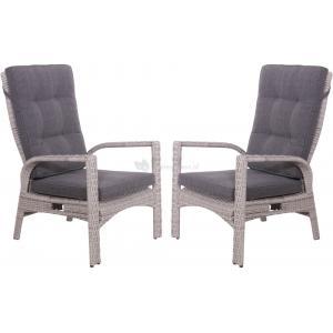 Loungestoelen Soho Brick 2 stuks