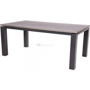 Bay Negro tuintafel antraciet 180x100x75 cm