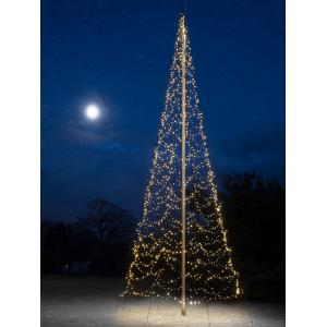 Fairybell licht kerstboom 1000 cm 2000 led warmwit zonder mast