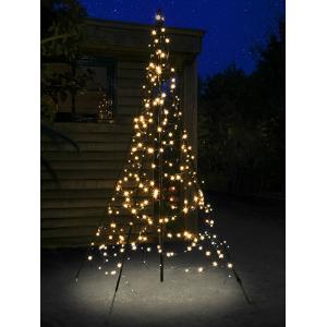 Fairybell verlichte kerstboomvorm 200 CM