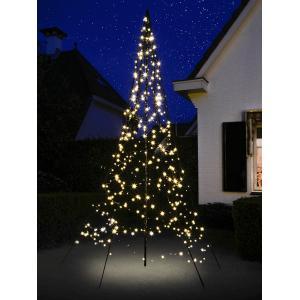 Fairybell licht kerstboom 300 cm 360 led warmwit met mast