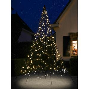 Fairybell Vlaggenmastkerstboom met Mast 3 m