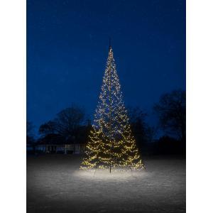 Fairybell licht kerstboom 800 cm 1500 led warmwit zonder mast