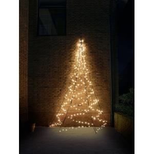 Fairybell muur kerstboom halfrond 400 cm 240 led warmwit