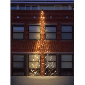 Fairybell muur kerstboom halfrond 800 cm 750 led warmwit