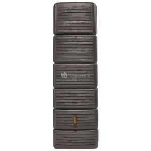 Garantia Slim regenton 300 liter wood decor bruin