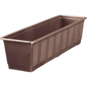 Balkonbak standaard bruin