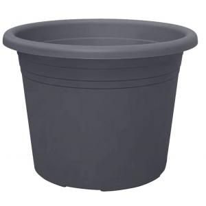 Bloempot Cylindro antraciet - � 12 cm  0,6 liter
