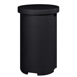 Cocoon enclosure bijzettafel rond zwart