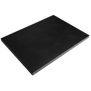 Deksel Cocoon vuurtafel rechthoek zwart