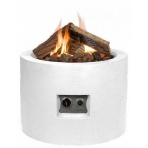 Dagaanbieding - Cocoon vuurtafel rond klein wit dagelijkse aanbiedingen