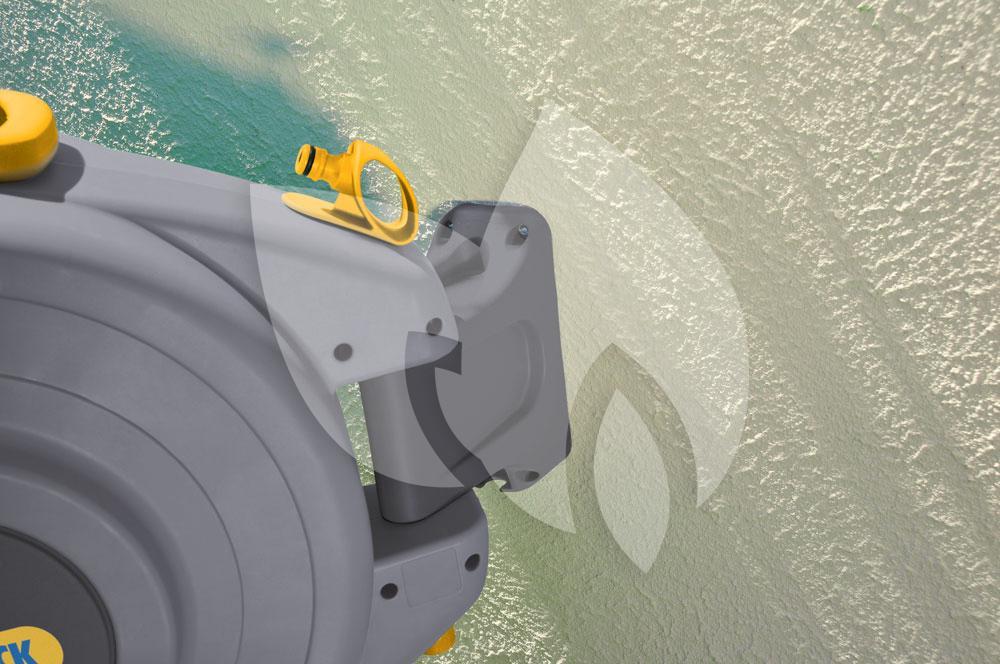 Populair Hozelock Tuinslanghaspel Auto Reel muurbevestiging 20m slang UV38