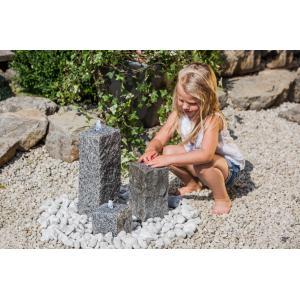 Waterornament graniet met LED verlichting