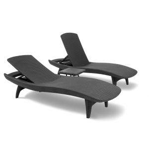 Pacific sunlounger loungebed (2-pack)