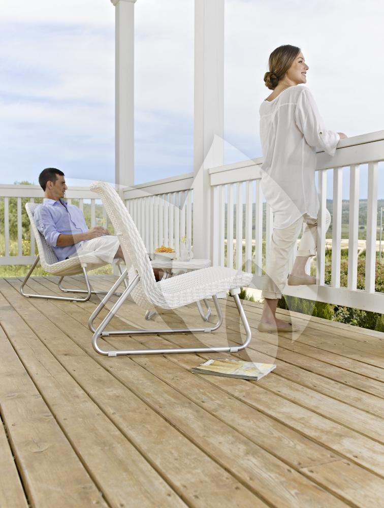 keter rio balkon loungeset wit. Black Bedroom Furniture Sets. Home Design Ideas