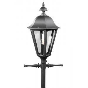 Staand verlichtingsarmatuur Pallas met 1 lamp - Matzwart