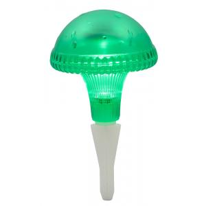 Led solarlamp assisi paddestoel groen