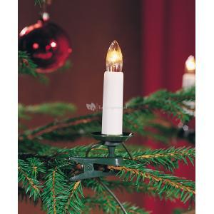 Korting Kerstboomverlichting met 16 kaarslampen