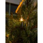 Kerstboomverlichting met 30 vlamvormige kaarslampen