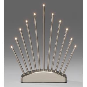 Tafeldecoratie Metalen kandelaar LED Konstsmide