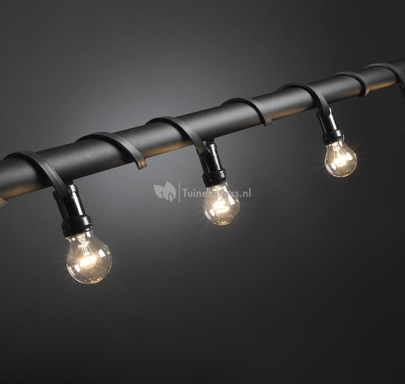 feestverlichting met heldere e27 lampen