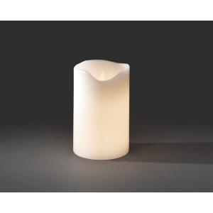 LED waskaars wit 20 cm op batterij