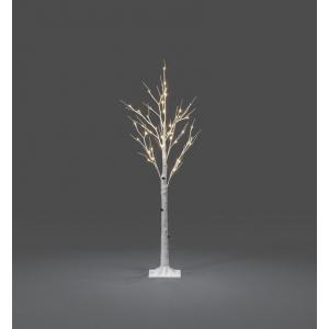 LED berk lichtboom wit 120cm