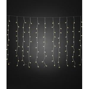 LED lichtgordijn warmwit cherry met 200 lampen