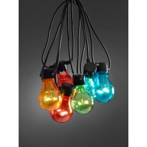 LED feestverlichting koppelbaar basisset multicolor