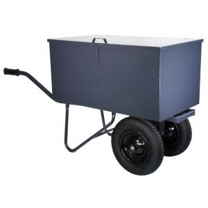 Kruiwagen met gereedschapbak en 2 wielen - Binnenband