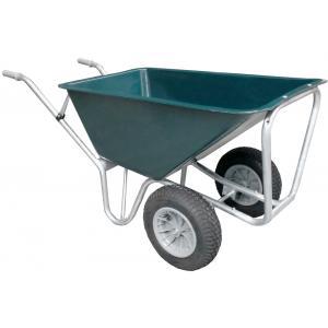 Boerderij kruiwagen basic met 2 wielen 160 liter
