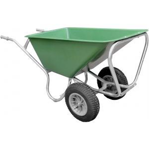 Boerderij kruiwagen met 2 wielen 160 liter