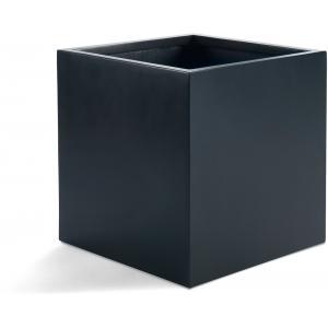 Argento plantenbak Cube L antraciet