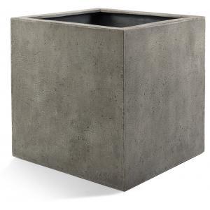 Korting Grigio plantenbak Cube S betonlook