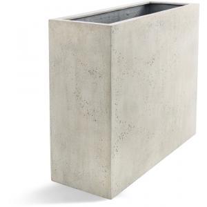 Grigio plantenbak High Box M antiek wit betonlook