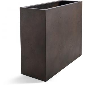 Grigio plantenbak High Box M roestig metaal betonlook