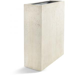 Korting Grigio plantenbak High Box S antiek wit betonlook