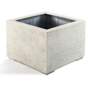 Dagaanbieding - Grigio plantenbak Low Cube S antiek wit betonlook dagelijkse aanbiedingen