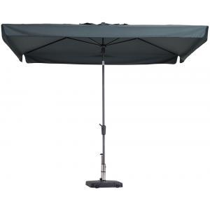 Madison parasol Delos Luxe rechthoek 300x200 cm grijs