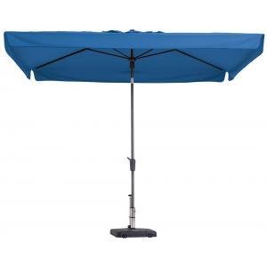 Madison parasol Delos Luxe rechthoek 300x200 cm turquoise
